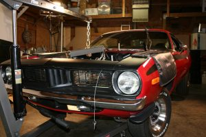 Bringing the 340 back to its original home in green 'Cuda