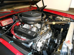 Plymouth 'Cuda 340ci engine